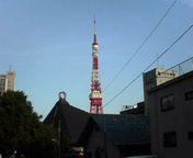 六本木から見た東京タワー